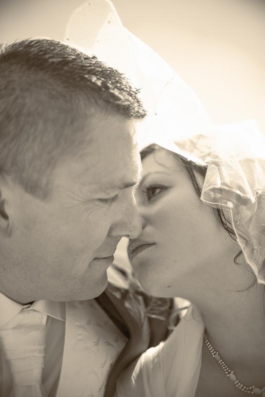 Sinnliche Hochzeitsfotos